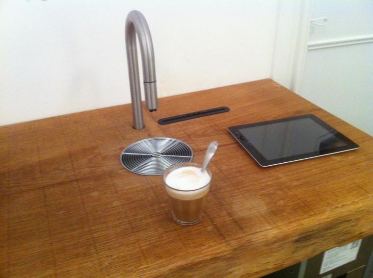 Scanomats nye app baserede kaffemaskine.