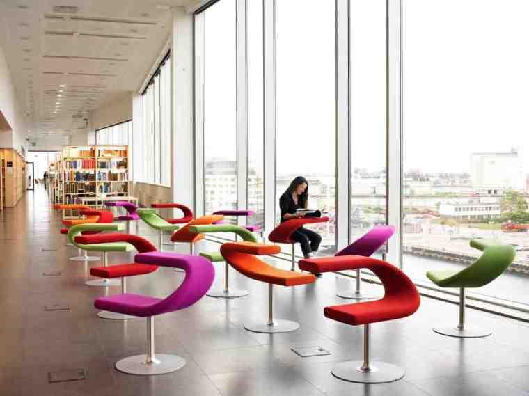 Innovation C. Svanemærket møbel. Perfekt til åbne rum, laptop hviler godt på armlænet. Kontakt os for møbler som dette.