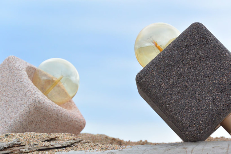 Lamper i sand!