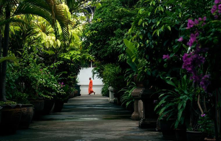 """""""The road to peace"""", Bangkok, Thailand. Lyddæmpende billeder i forskellige størrelser. © Beerman Photography"""