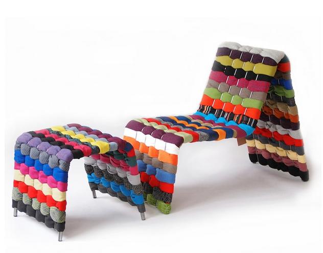 Tøjstolen med sidestol